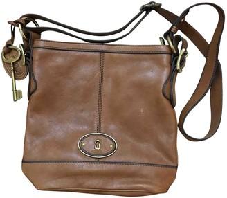 Fossil Camel Leather Handbags