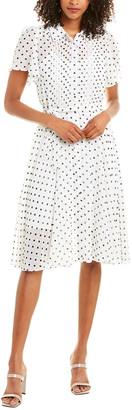 Nanette Nanette Lepore Pintuck A-Line Dress