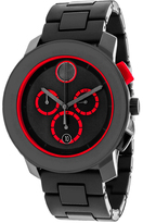 Movado Bold 3600272 Men's Black Stainless Steel Chronograph Watch