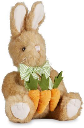 "Bearington Collection Holden Carrot Bunny Plush Toy, 14"""