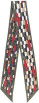 Bulgari printed hair tie