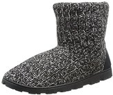 Muk Luks Women's Knit Lug Marled Knit Boot