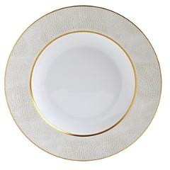 Bernardaud Sauvage White Rim Soup Bowl