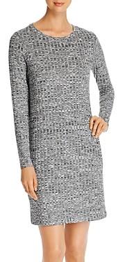 Vero Moda Poppy Ribbed Melange-Knit Dress