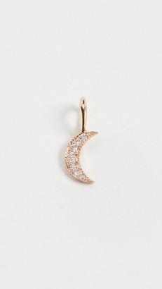 Zoë Chicco 14k Medium Gold Crescent Moon Charm Pendant