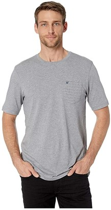 Travis Mathew TravisMathew Cheat Sheet T-Shirt (Heather Grey) Men's Clothing