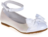 Jelly Beans White Xirona Ankle-Strap Flat