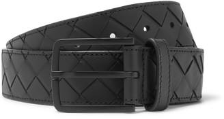 Bottega Veneta 3.5cm Intrecciato Leather Belt