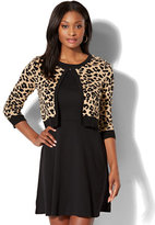 New York & Co. 7th Avenue - Dress Cardigan - Leopard Print