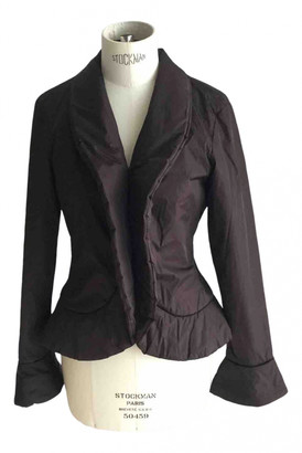 Jean Paul Gaultier Burgundy Synthetic Jackets