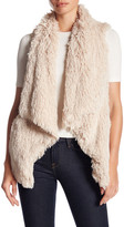Jolt Faux Fur Waterfall Vest