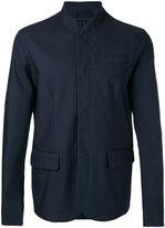 Emporio Armani stand collar blazer