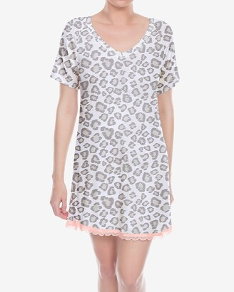 Express Honeydew Intimates Short Sleeve Sleepshirt