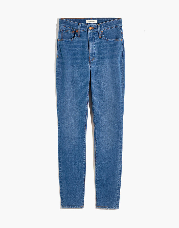 Thumbnail for your product : Madewell Tall Curvy High-Rise Skinny Jeans in Astoria Wash: TENCEL Denim Edition