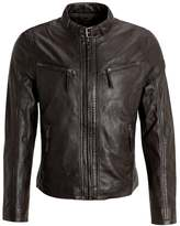 Gipsy Coby Leather Jacket Dunkelbraun