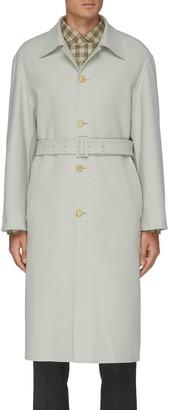 AURALEE 'Super Fine Melton' Belted Long Coat