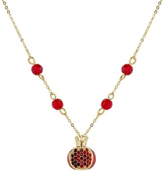 All We Are Pomegranate Pendant Gold