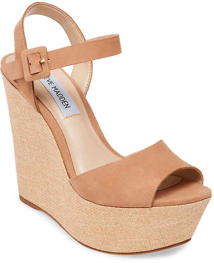 Steve Madden Citrus Wedge Sandal - Women's