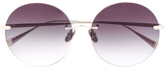 EQUE.M NKNK round frame sunglasses