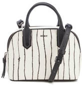 DKNY Women's Mini Satchel Bag Twine Stripe