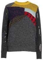Junya Watanabe Women's Mixed Media Sweater