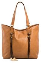 DV Women's Faux Leather Tote Handbag
