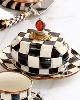 Mackenzie Childs MacKenzie-Childs Courtly Check Butter Dish