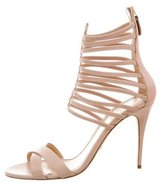 Jerome C. Rousseau Leather Sacli Cage Sandals w/ Tags