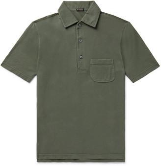 Cotton-Pique Polo Shirt