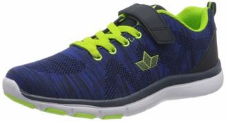 Lico Men's Colour Vs Nordic Walking Shoes Blue/Schwarz/Lemon 7 UK