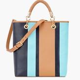Talbots Colorblock Tote Bag