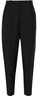 Jil Sander Cropped Wool And Mohair-blend Tapered Pants