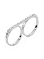 Campise Diamond Double Ring