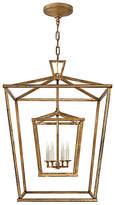 Visual Comfort & Co. Darlana Large Double Cage Lantern - Gild