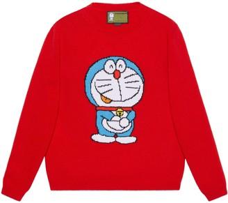 Gucci Doraemon x wool sweater