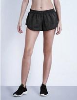 Ivy Park Reflective Linear shell running shorts