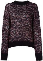 Isabel Marant leopard print jumper