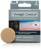 Yankee Candle Car Powered Fragrance Diffuser Refill, Pink Sands