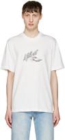 Sunnei White La Bella Vita T-shirt