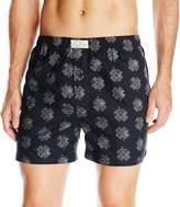 Lucky Brand Men's Printed Clover Woven Boxer