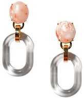 Thumbnail for your product : Lele Sadoughi Club Link Acetate & Stone Drop Earrings