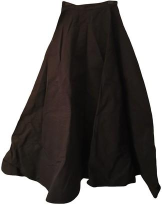 Gareth Pugh Black Cotton Skirt for Women