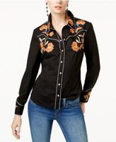 INC International Concepts Embroidered Shirt, Created for Macy's