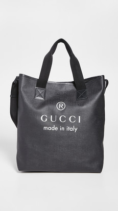 What Goes Around Comes Around Gucci Canvas Tote
