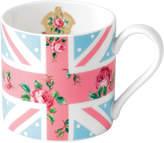 Royal Albert Cheeky Pink Union Jack Blue Modern Mug
