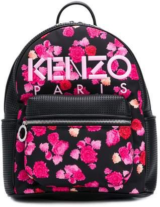 Kenzo floral print backpack