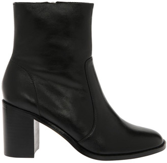 Piper Stevie Black Cow Leather Boot