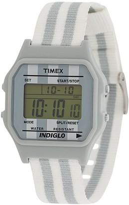 Timex T80 canvas digital watch