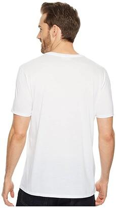 Lacoste Short Sleeve V-Neck Pima Jersey Tee