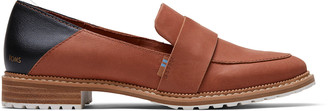 Toms Brown Leather Mallory Women's Loafer